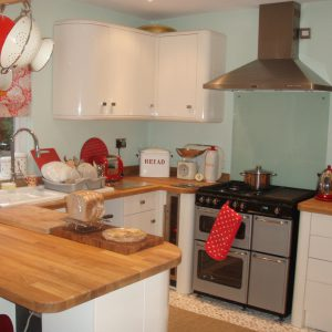 Fitted  Kitchen, including all Flooring, Electrics and Plumbing.